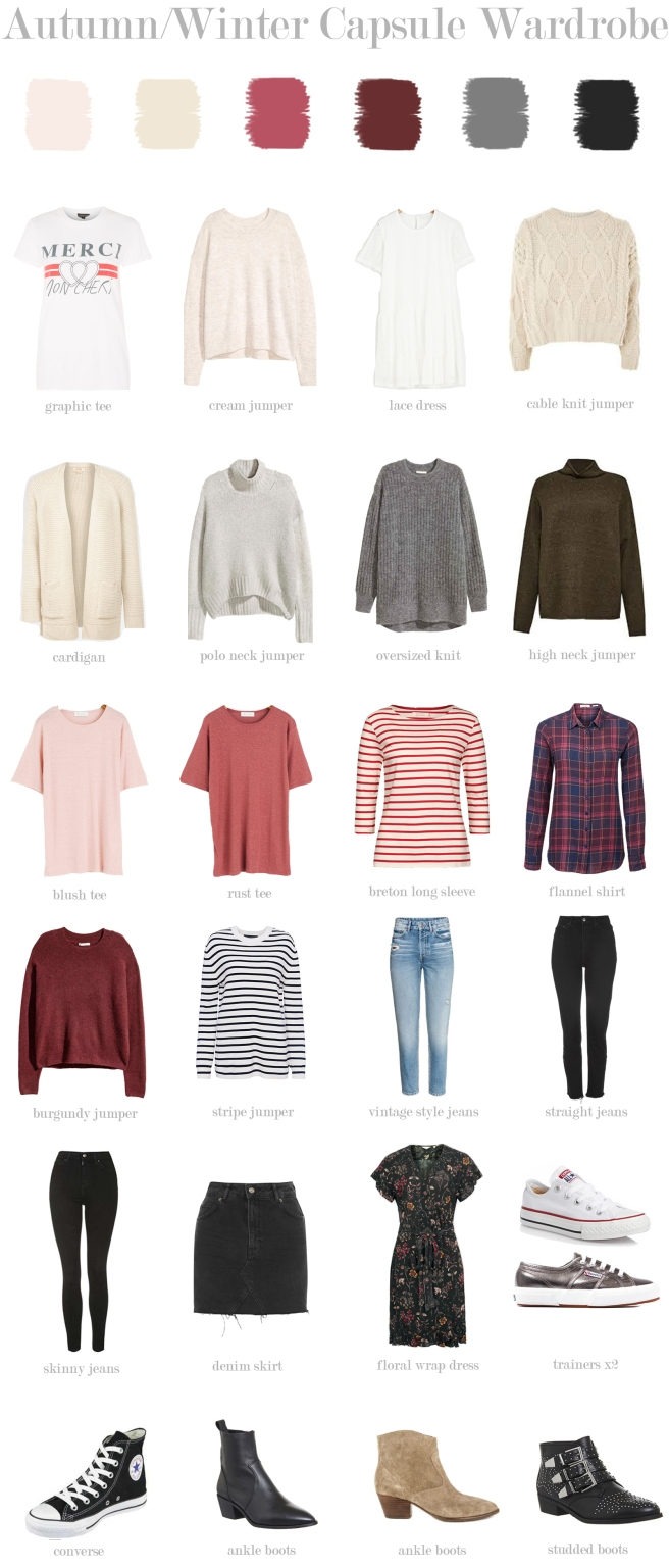 Fashion Blog Capsule Wardrobr For Over S