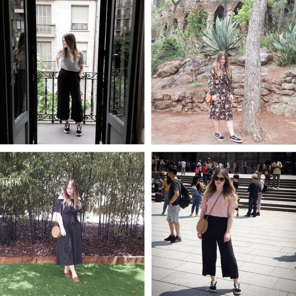 Barcelona outfits